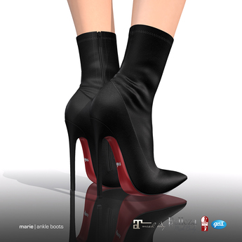 [Gos] Marie Ankle Boots - Black