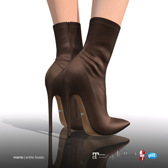 [Gos] Marie Ankle Boots - Chocolate