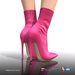[Gos] Marie Ankle Boots - Fuchsia