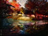 Fine Art - FALL REFLECTIONS - Toy's photography painting mural home furnishing decor canvas picture