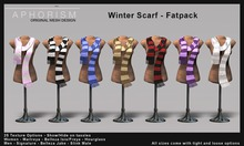 !APHORISM! Winter Scarf Fatpack