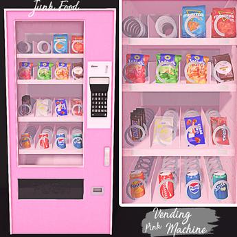Junk Food - Vending Machines (Pink)