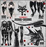 CURELESS[+] Incubus&Succubus / Diabolus Tail / WHITE (v.1)