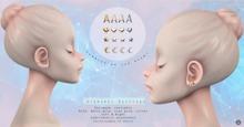 Swan Alphabet Earrings A