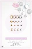 Swan Alphabet Earrings B