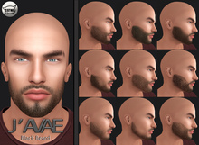 [J'AVAE] Facial Hair Black Beard - Catwa