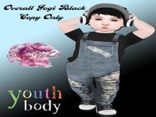 SAMIS WORLD Overall Jogi Black Bebe Youth