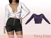 Tony Esso - Viki Sweater (Violet)
