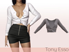 Tony Esso - Viki Sweater (Sand)