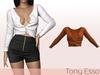 Tony Esso - Viki Sweater (Orange)