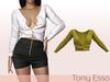 Tony Esso - Viki Sweater (Lemon)