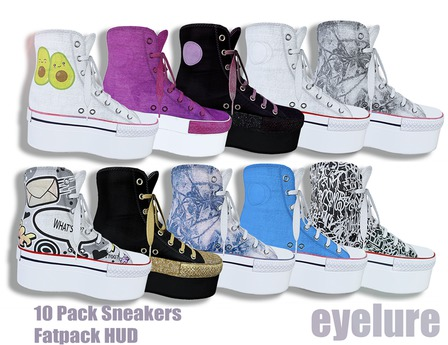 Eyelure Platform Sneakers w/Fatpack HUD