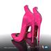 [Gos] Irina Pointed Zip Heels - Vivacious