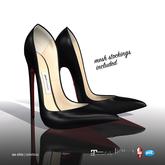 [Gos] So Chic Stilettos & Stockings - Black