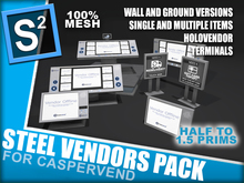S2 Steel Vendors Pack - For CasperVend
