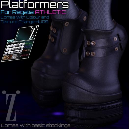 [inZoxi] - Regalia ATHLETIC - Platformer Boots