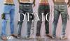 Demo FashionNatic - Davide Male Pants Fatpack Jeans - Denim - Signature Gianni, Belleza - Jake, Legacy