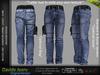 FashionNatic - Davide Male Pants Original Jeans - Denim - Signature Gianni, Belleza - Jake, Legacy