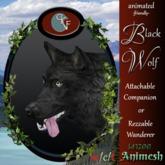 CKit Falconry animesh Black Wolf