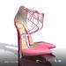 [Gos] Penny Lace-Up Heels - Pink Lemonade