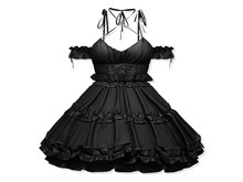 Sweet Thing. Little Tokyo Dress - Shiny Black (add)