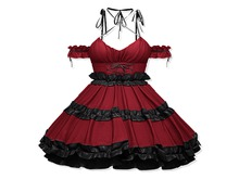 Sweet Thing. Little Tokyo Dress - Scarlet (add)