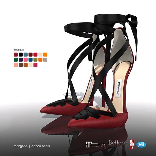 [Gos] Morgane Ribbon Heels - Boutique