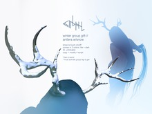 cinphul // antlers w/ snow [group gift]
