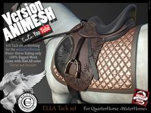 (*.*) ELLA tack set QuarterHorse for Animesh