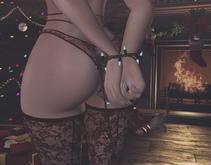 *!R.O!* Xmas Bindings BENTO Pose w/ Mesh Christmas Lights