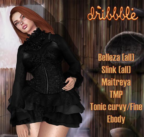 111 DriBbble Bag ***DriBbble Pirate Black Pirate