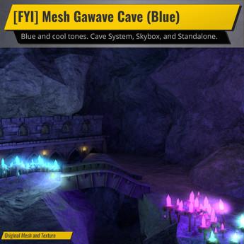 [FYI] Mesh Grawave Cave (Blue Version)