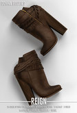 REIGN.- DONNA BOOTIES - FATPACK