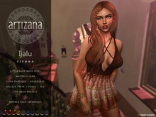 Artizana - Ijalu (Sienna) - Mesh Dress