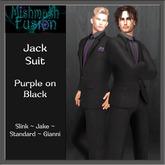 ~*MF*~ Jack Suit - Black and Purple