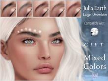 Eyebrows, Lelutka: JuliaEarth.Large.Snowflakes.GIFT