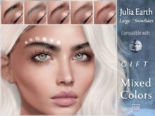 Eyebrows, Genus: JuliaEarth.Large.Snowflakes.GIFT