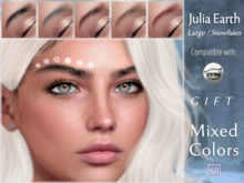 Eyebrows, Catwa: JuliaEarth.Large.Snowflakes.GIFT