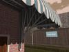 Dutchie 3d model  vintage awning striped inside