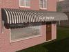 Dutchie 3d model  vintage awning striped black