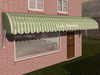 Dutchie 3d model  vintage awning striped green