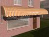 Dutchie 3d model  vintage awning striped orange