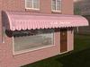 Dutchie 3d model  vintage awning striped pink