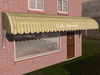 Dutchie 3d model  vintage awning striped yellow
