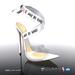 [Gos] Gabby Plexi Sandals - White