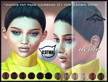 *dafnis fat pack hairbase 01 for CATWA Demo
