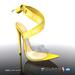 [Gos] Gabby Plexi Sandals - Radiant Yellow