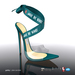 [Gos] Gabby Plexi Sandals - Deep Lake