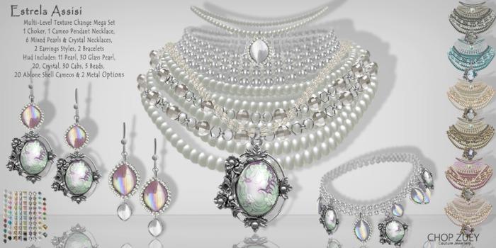 Estrela Assisi - Mega Set - TxChnge by Chop Zuey Couture Jewellery