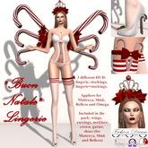 """Buon Natale"" Lingerie Set - Fashion Dream"